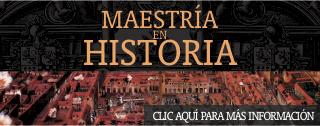 banner home Maestría en Historia
