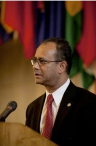 Embajador Albert Ramdin