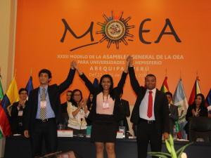 Sesión plenaria y clausura de 32 MOEA