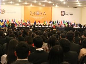 Inauguración 32 MOEA
