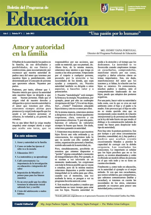 boletin julio educacion 2013