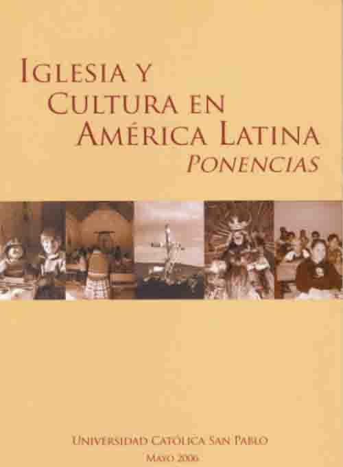 IGLESIA Y CULTURA EN AMERICA LATINA PONENCIAS