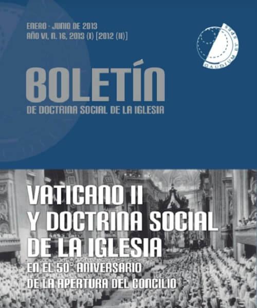 vaticano ii y doctrina social de la iglesia