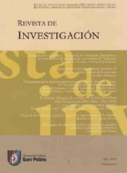 REVISTA DE INVESTIGACION1