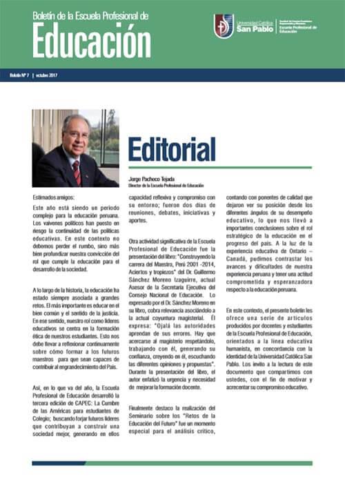 boletin octubre educacion 2017