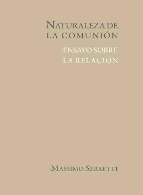 NATURALEZA DE LA COMUNION