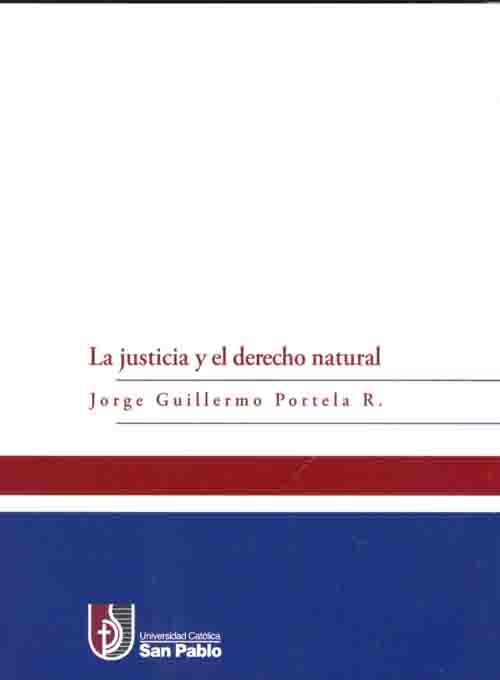 La justicia y el derecho natural