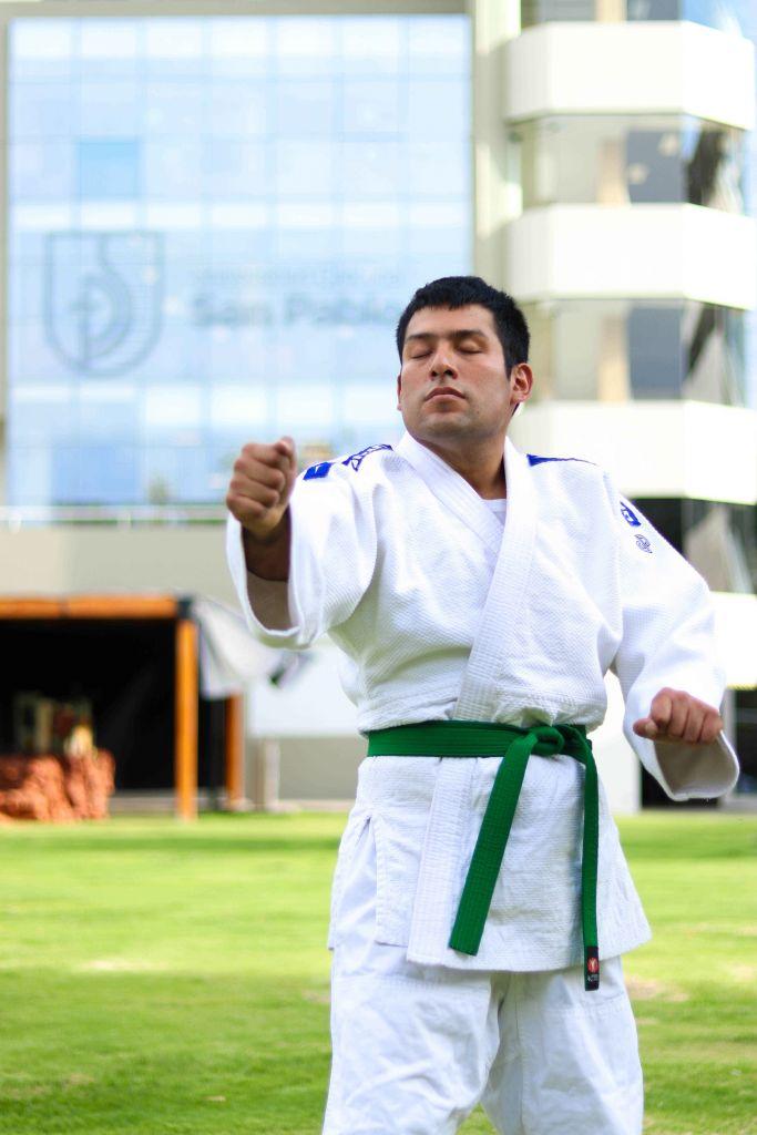 Al estar en la Copa Mundial de Judo en Portugal automáticamente Fred clasificó a los juegos Parapanamericanos Lima 2019.