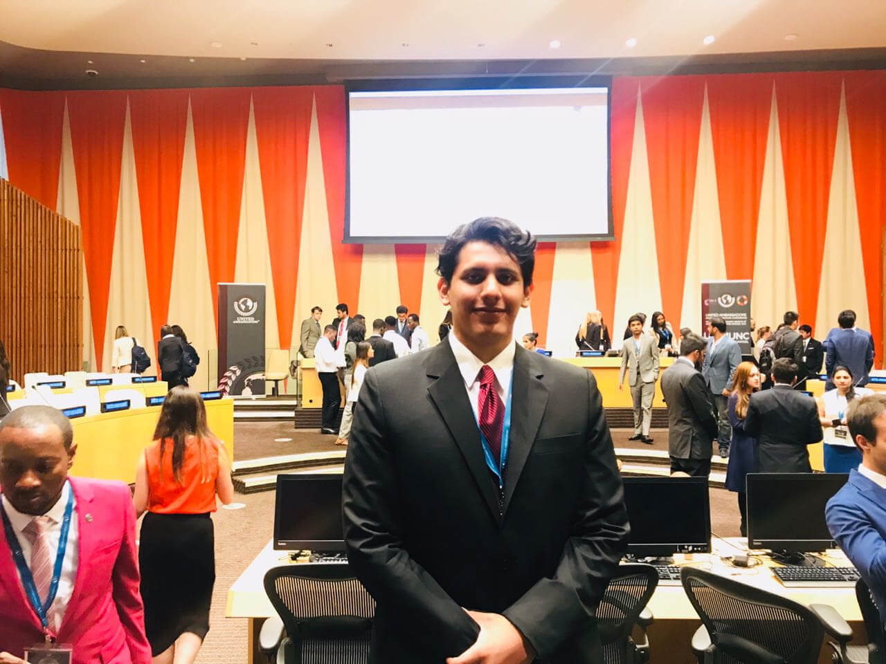 Carlos Rodrigo en la ONU 1 1