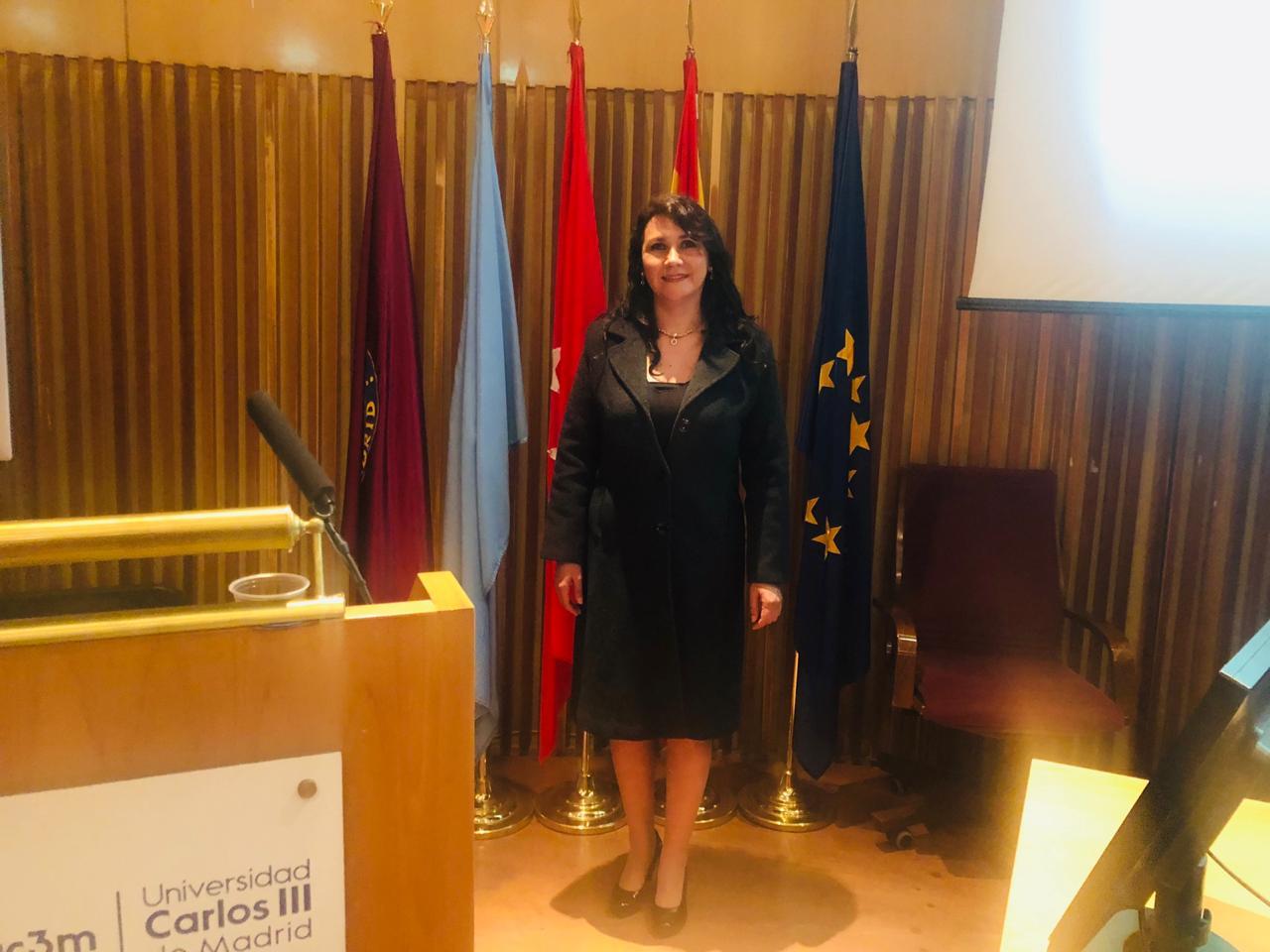 Dra. Patricia Castillo en la U. Carlos III de Madrid