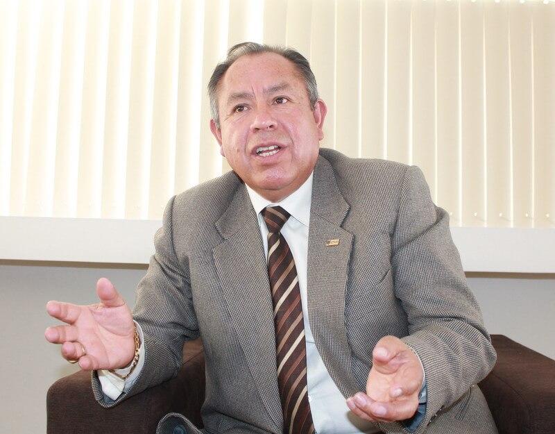 Profesor y especialista en Gestión de Riesgo, Washington Cárdenas Huarca.