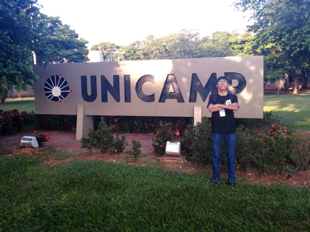 Para el alumno Oscar Ramos, esta es la segunda capacitación internacional en Programación Competitiva en la que participa.