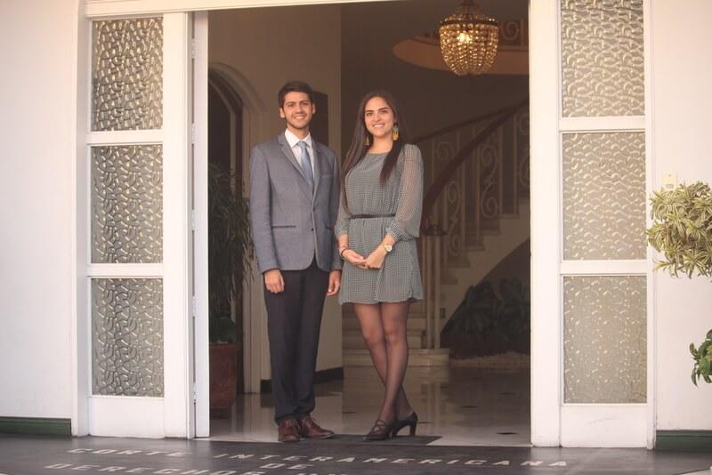 Alejandro y Ximena forma parte del grupo de investigación, Francisco de Vitoria.