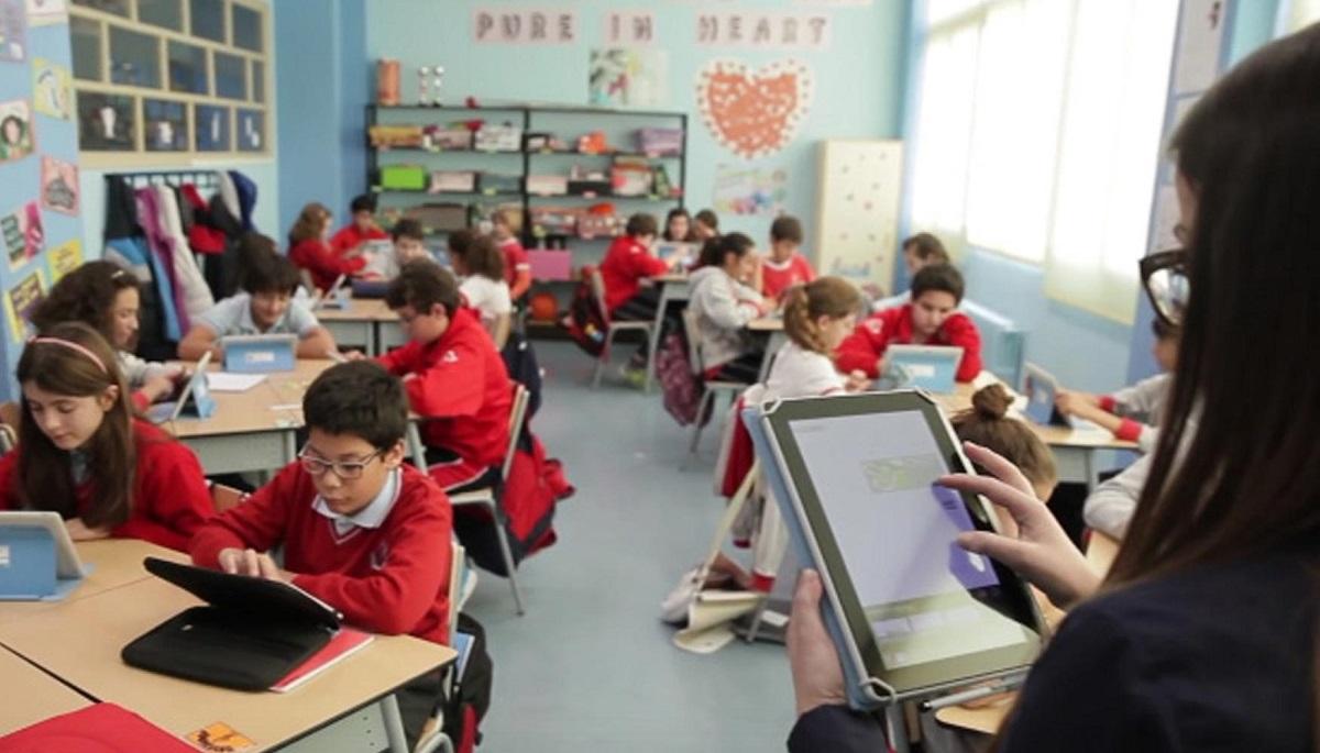aula estudiantes