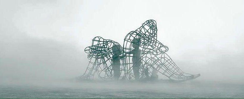 escultura ucrania