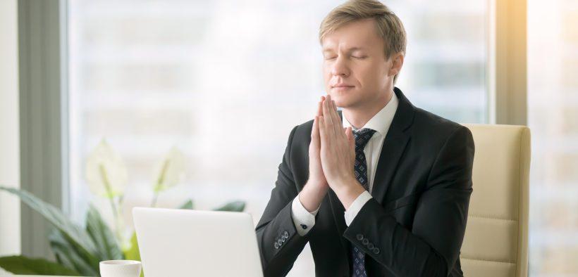 gerente orando