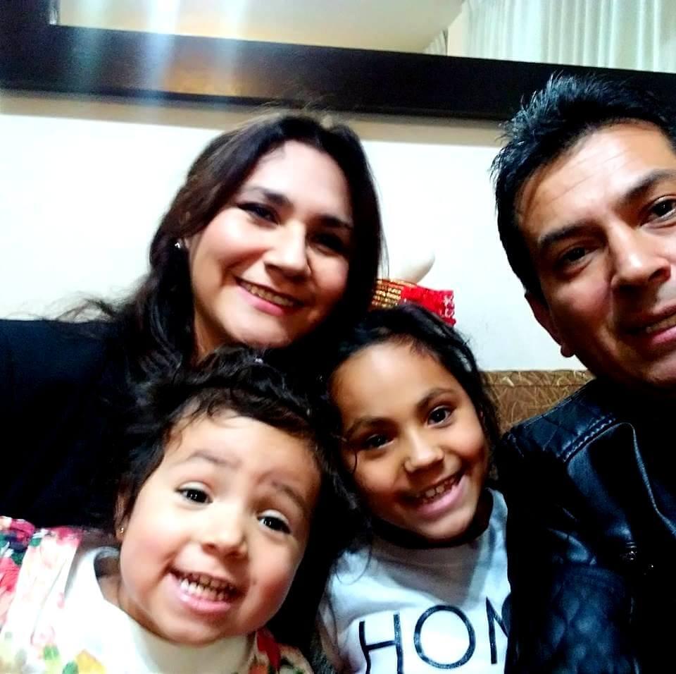 Dra. Patricia Castillo y familia