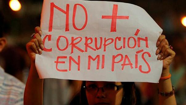 No corrupcion en mi pais