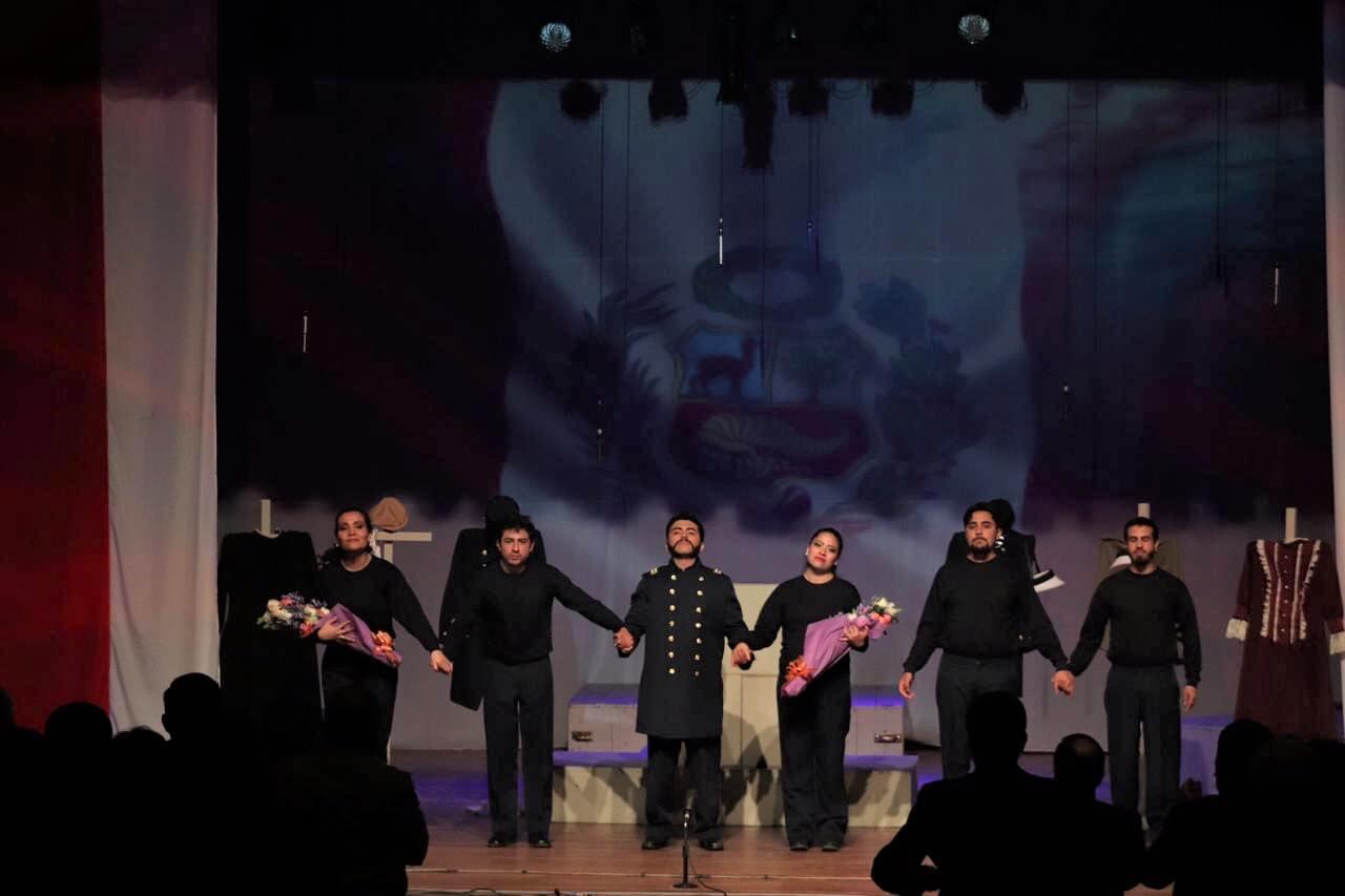 Obra de Teatro Los peruanos de Angamos 1