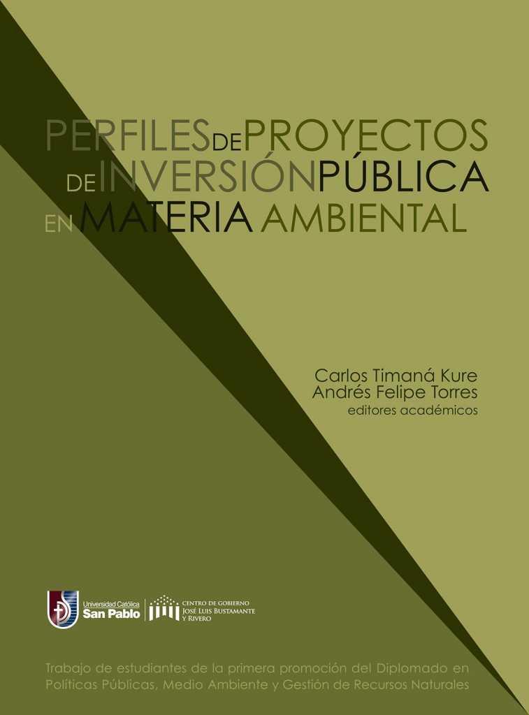 ebook Perfiles de Proyectos de Inversión Pública I