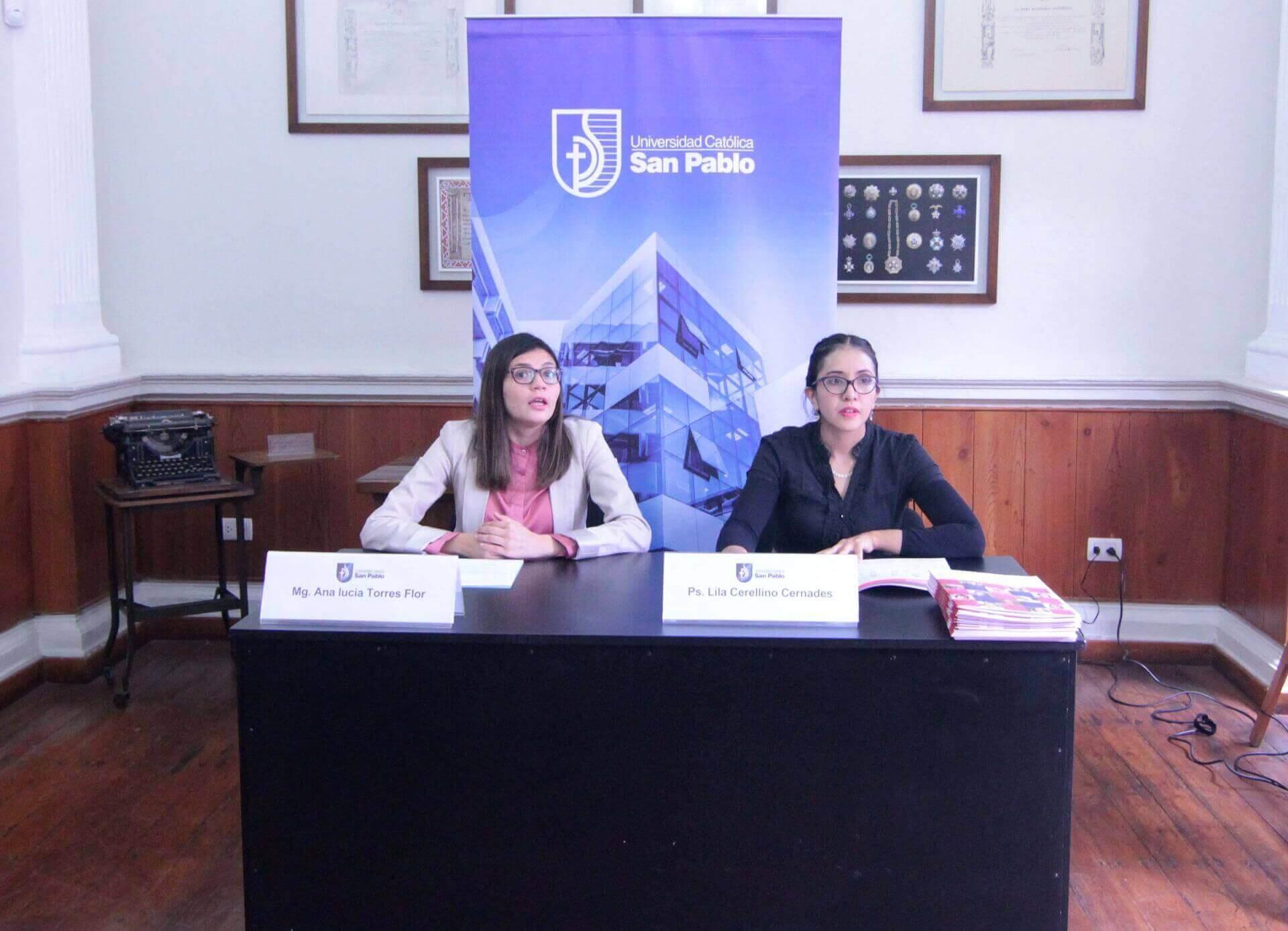 Investigadoras Ana Lucia Torres y Lila Cerellino