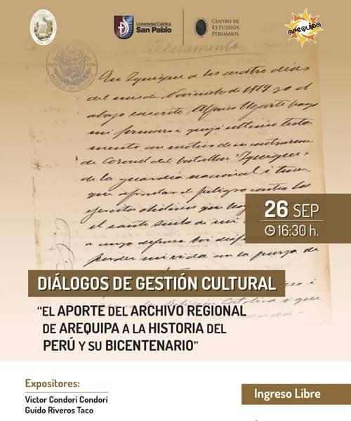 27. Publicidad de I Diálogos de Gestión Cultural
