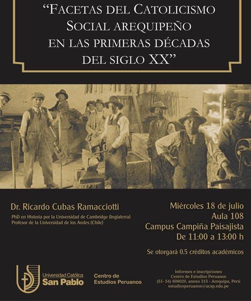 40. Afiche Cátedra Víctor Andrés Belaunde 2012