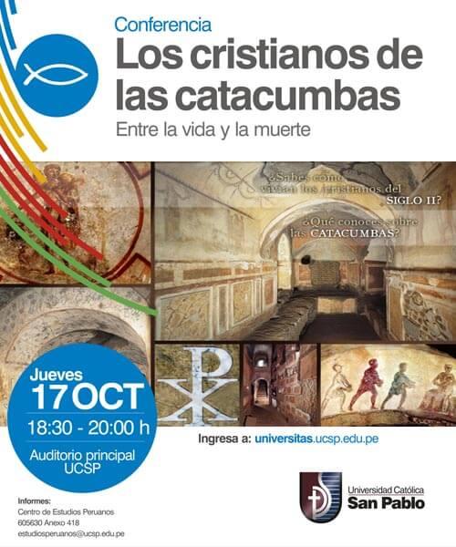 47. Universitas 2013 Los cristianos de las Catacumbas