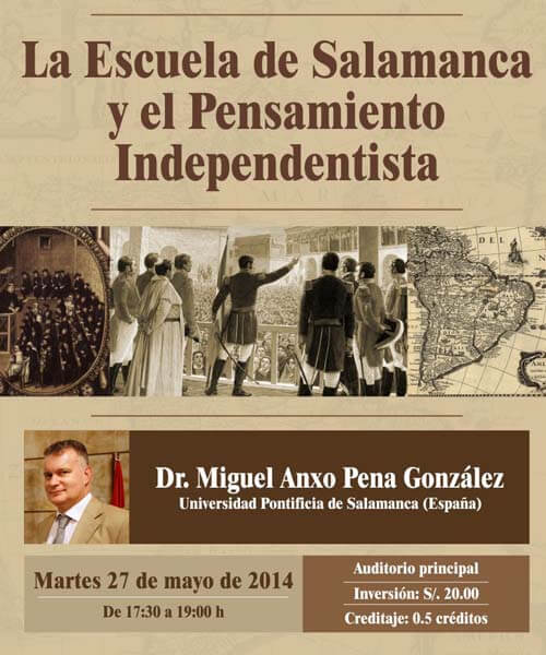 49. Afiche Cátedra Victor Andres Belaunde mayo 2014