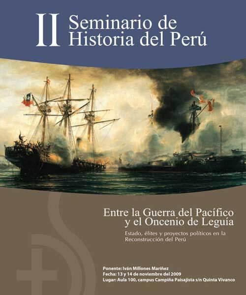68. Afiche II Seminario de Historia Entre la guerra del Pacífico y la guerra fría 2009