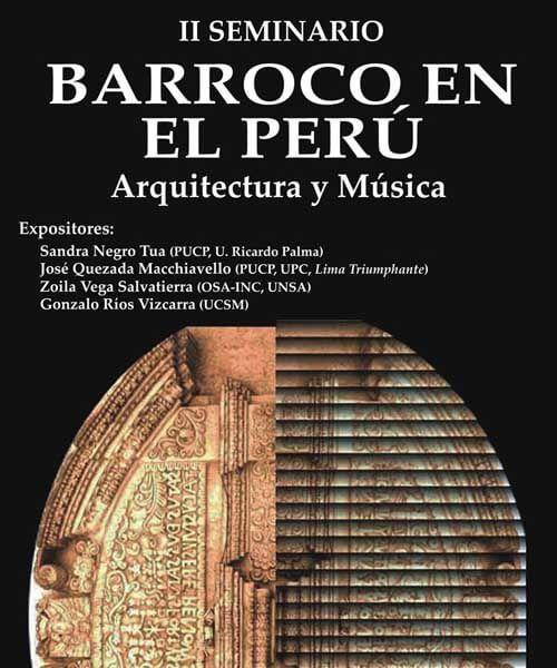72. Afiche II Seminario Barroco 2008