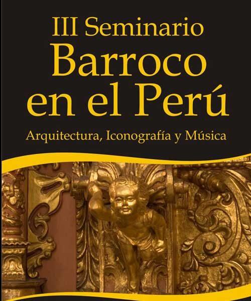75. Afiche III Seminario Barroco 2009