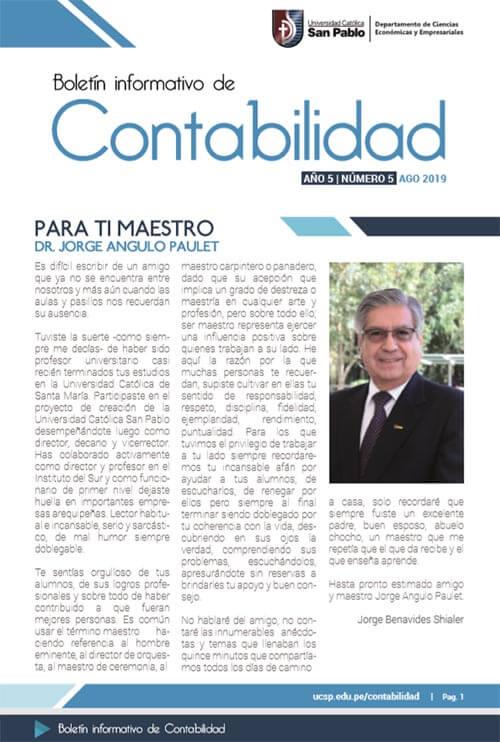boletin agosto Contabilidad 2019