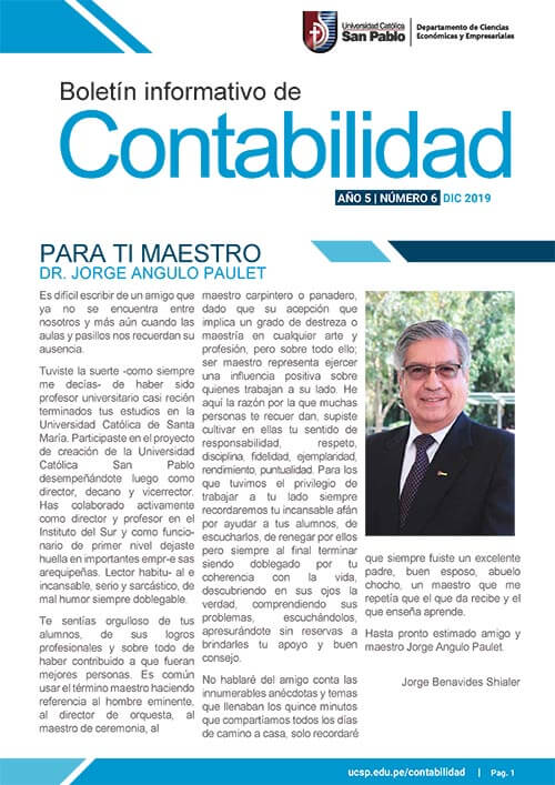 boletin diciembre Contabilidad 2019