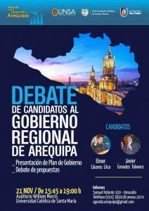 afiche mailing debate regional 19 11
