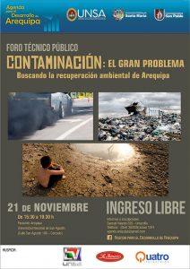 afiche mailing foro medio ambiente 08 11