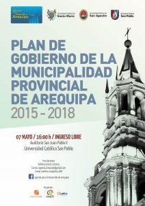 afiche mailing plan de gobierno 2015 2018
