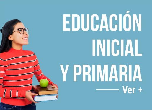 carrera educacion inicial y primaria