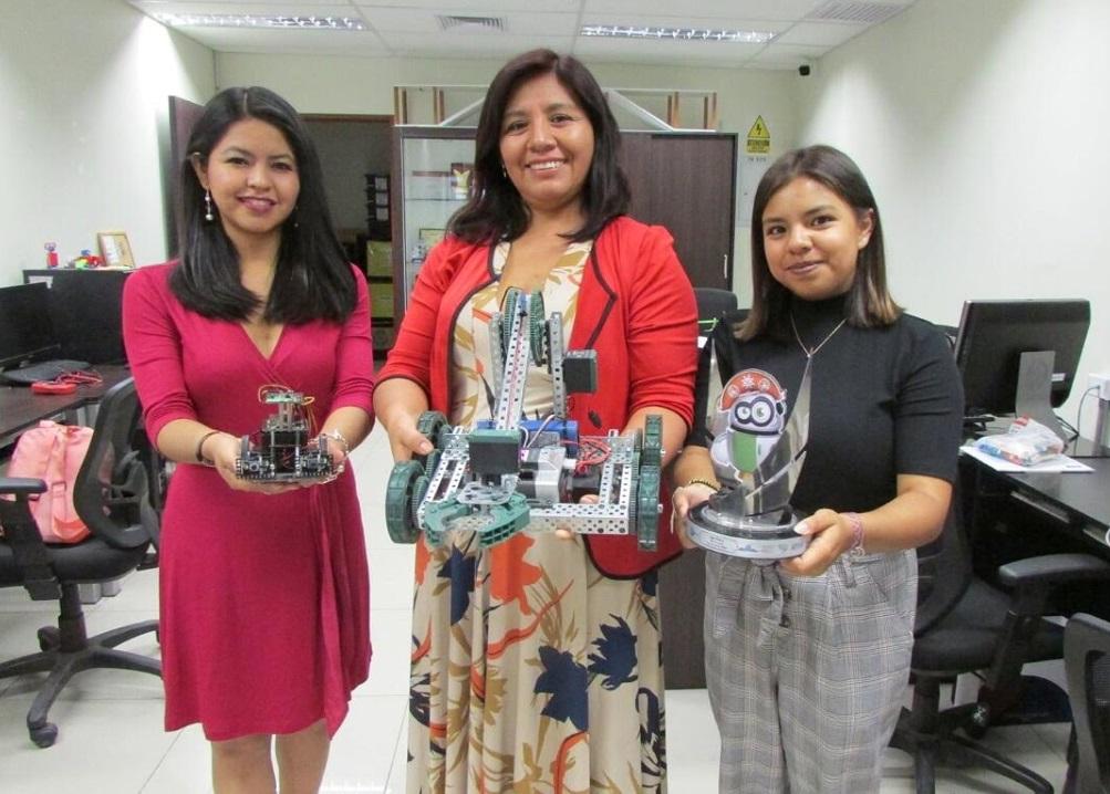 Club de Robótica Chicas en Tecnología