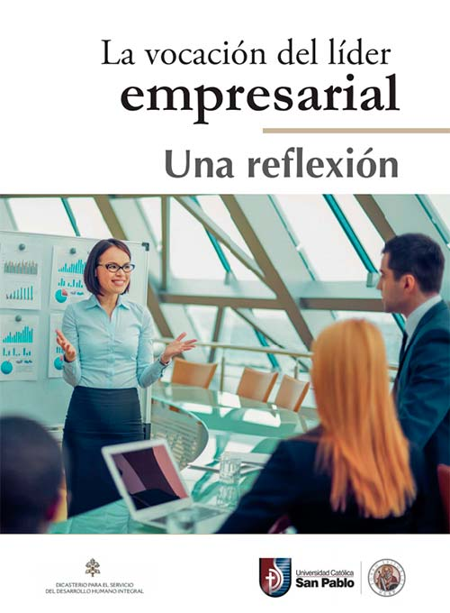 la vocacion del lider empresarial una reflexion portada