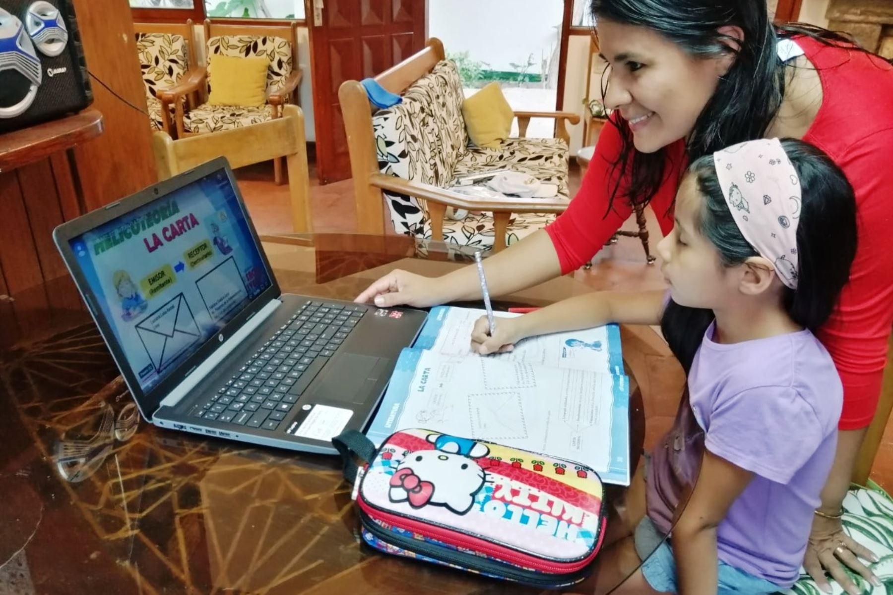 educación remota andina