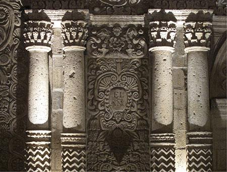 banner interno arte y arquitectura arequipa siglos