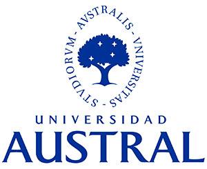 logo universidad austral blue