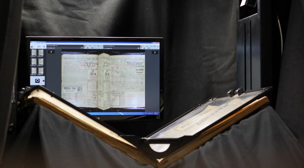 Proyecto digitalización de libros antiguos