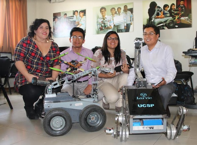 Proyecto robots de rescate