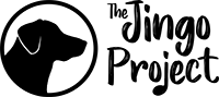 logo jingo negro