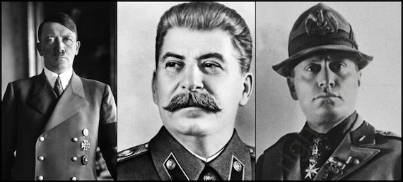Hitler Stalin y Mussolini 1