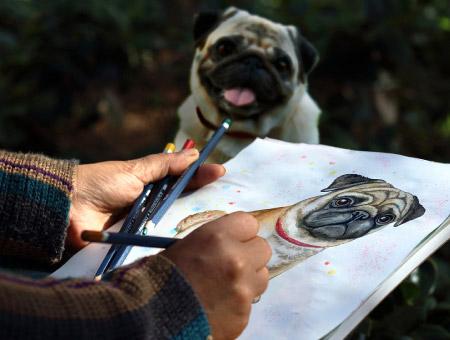 banner interno concurso dibujo mascota