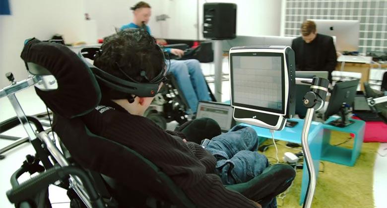 andador inteligente ninos paralisis celebral