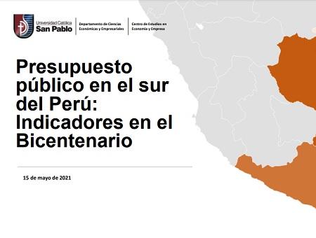 presupuesto publico bicentenario